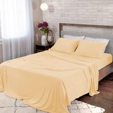 Bedgear Dri-Tec Champagne Twin Sheet Set