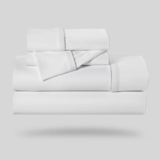 Bedgear Dri-Tec White Full Sheet Set