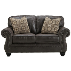 Benchcraft Breville Loveseat in Charcoal