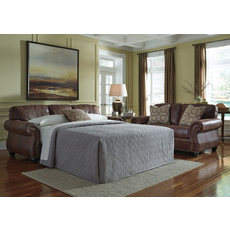 Benchcraft Breville Queen Sofa Sleeper in Espresso