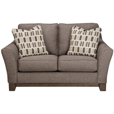 Benchcraft Janley Loveseat in Slate