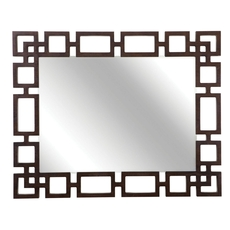 Bernhardt Haven Wood Framed Mirror