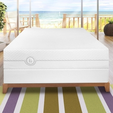 "Queen Blu Sleep Nature Collection Aqua Gel 13"" Plush Mattress"