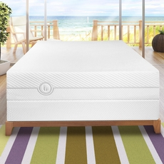 "Twin XL Blu Sleep Nature Collection Bio Aloe 11"" Firm Mattress"