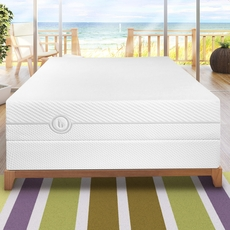 "Queen Blu Sleep Nature Collection Cool Blu 10"" Plush Mattress"
