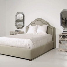 Bernhardt Interiors Madison Crown Top Cal King Bed