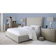 Bernhardt Criteria Upholstered King Bedroom Set