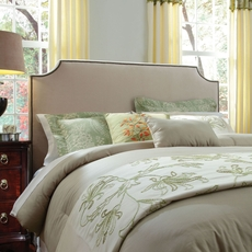 Broyhill Andrina Clipped Corner Custom Upholstered Headboard Only