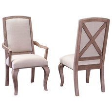 Broyhill Bedford Avenue Flushing Avenue Tapestry Arm Chair Set of 2