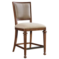 Broyhill Cascade Upholstered Seat and Back Counter Stool
