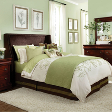 Broyhill Hamlyn Shelter Custom Upholstered Bed