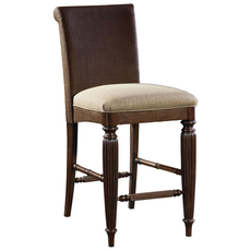 Broyhill Jessa Woven Upholstered Seat Counter Stool