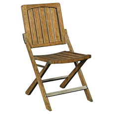 Broyhill New Vintage Cafe Wood Slat Chair Set of 2