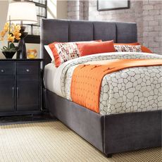 Broyhill Penley Channel Back Custom Upholstered Bed