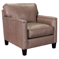 Broyhill Tanners Choice Lawson Leather Chair
