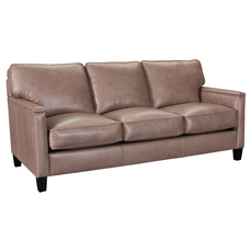 Broyhill Tanners Choice Lawson Leather Sofa