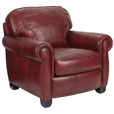 Broyhill Tanners Choice New Vintage Leather Chair and a Half