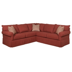 Broyhill VIP Custom Uptown Sectional - You Choose the Fabric