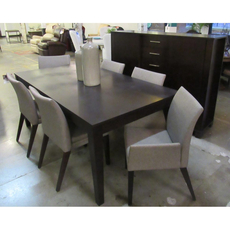 Clearance Bermex Casual Contemporary Dining Set