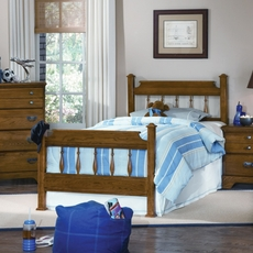 Carolina Furniture Works Creek Side Spindle Complete Bed