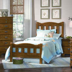 Carolina Furniture Works Creek Side Splat Complete Bed