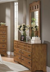Carolina Furniture Works Creek Side Triple Dresser