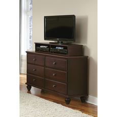 Carolina Furniture Works Carolina Craftsman Collection Media Unit