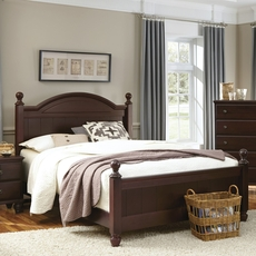 Carolina Furniture Works Carolina Craftsman Collection Queen Size Panel Bed