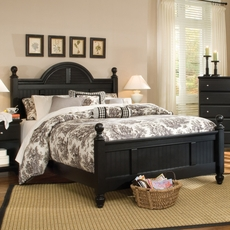 Carolina Furniture Works Midnight Cottage Complete Bed