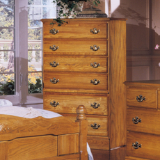 Carolina Furniture Works Oak 6 Drawer Chest
