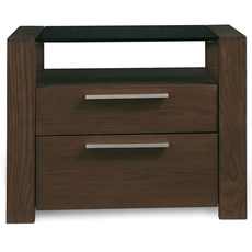 Casana Furniture Hudson 2 Drawer Nightstand