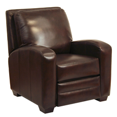 Catnapper Avanti Multi-Position Leather Recliner in Chocolate