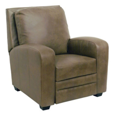 Catnapper Avanti Multi Position Leather Recliner in Mink