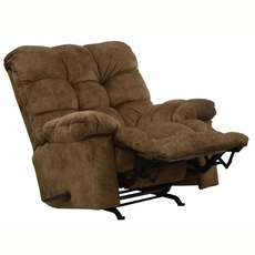 Catnapper Bronson Chaise Rocker Recliner in Mocha