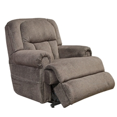 Catnapper Burns Power Lift Full Lay Flat Recliner with Dual Motor Comfort and Function in Ash