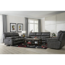 Catnapper Camden Lay Flat Power Recliner in Steel