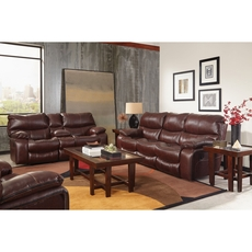 Catnapper Camden Lay Flat Power Recliner in Walnut