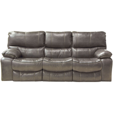 Catnapper Camden Lay Flat Power Reclining Sofa in Steel