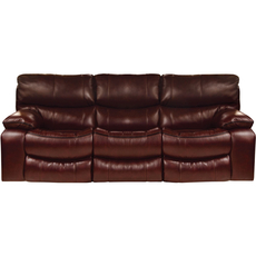 Catnapper Camden Lay Flat Reclining Sofa in Walnut