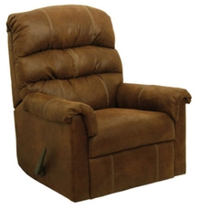 Catnapper Capri Rocker Recliner in Tanner