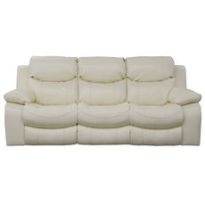 Catnapper Catalina Reclining Sofa in Ice with Power Option