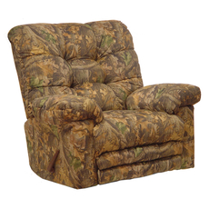 Catnapper Cloud Nine Camouflage Oversized Chaise Rocker Recliner with X-tra Comfort in Infinity