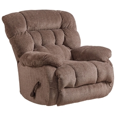 Catnapper Daly Chaise Rocker Recliner in Chateau