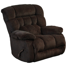 Catnapper Daly Chaise Rocker Recliner in Chocolate