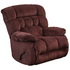 Catnapper Daly Chaise Rocker Recliner in Cranapple