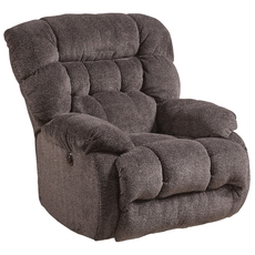 Catnapper Daly Chaise Swivel Glider Recliner in Cobblestone