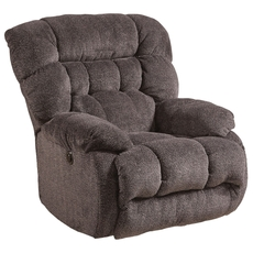 Catnapper Daly Power Lay Flat Recliner in Cobblestone