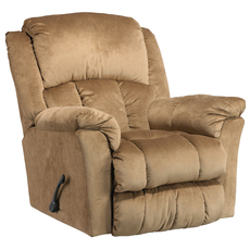 Catnapper Gibson Lay Flat Recliner in Mocha