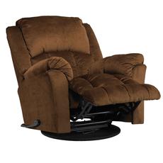 Catnapper Gibson Lay Flat Recliner in Walnut