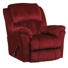 Catnapper Gibson Swivel Glider Recliner in Berry